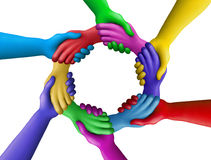Color agreement-11 Royalty Free Stock Photo