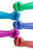Color agreement-9 Fotografía de archivo