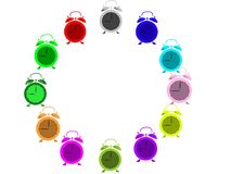 Color alarms Royalty Free Stock Photo