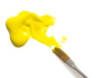 Color amarillo Imágenes de archivo libres de regalías