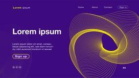 Color amarillo púrpura del extracto del fondo para el homepage ilustración del vector