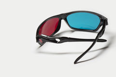 Color anaglyph glasses Royalty Free Stock Images
