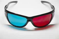 Color anaglyph glasses Royalty Free Stock Photo