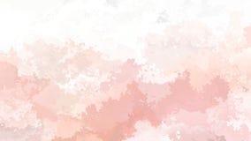 Color anaranjado rosado del lazo del fondo viejo y de color salmón video inconsútil manchado animado abstracto metrajes