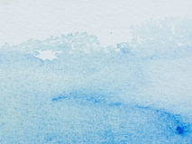 Color And Texture Of Water Color On Paper Royalty Free Stock Photo