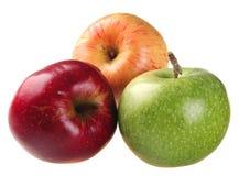 Color apple set Stock Images