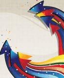 Color arrows Royalty Free Stock Image