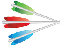 Color arrows Stock Photos