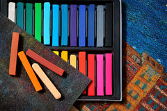 Color art pastels Royalty Free Stock Photography