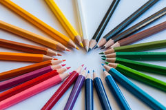 Color art. Art of color on the white screen stock photos