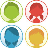 Color avatar Royalty Free Stock Image