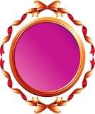Mirror inramar från band vektor illustrationer