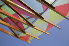 Color awning Stock Image