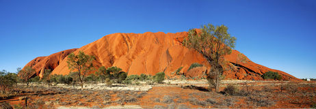 The color of Ayers ROCK Stock Image