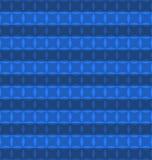 Color azul geométrico del modelo Imágenes de archivo libres de regalías