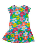 Color baby dress, isolate Stock Image