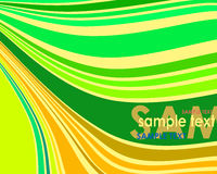 Color background. Abstract color background with sample text Stock Photos