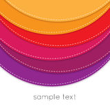 Color background. Colorful abstract on white background Stock Photography