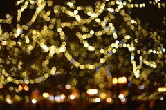 Color background blur. Christmas light. Stock Image
