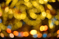 Color background blur. Christmas light. Royalty Free Stock Images