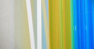 Color background. Multi-color architectural detail that can work as a background Royalty Free Stock Image