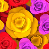 Color Background Shows Multicoloured Backgrounds And Colours Stock Image