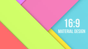 Color Background Unusual modern material design Stock Photo