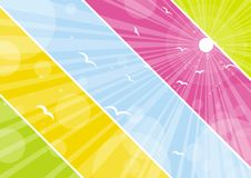 Color background, vector Royalty Free Stock Photo