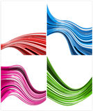 Color backgrounds. Abstract color backgrounds 3d rendered royalty free stock photography