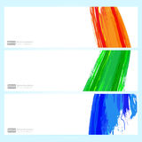 Color backgrounds set Royalty Free Stock Photo