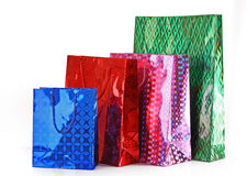 Color bags Royalty Free Stock Photos
