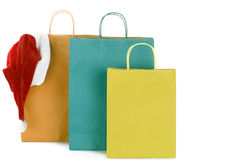 Color bags Royalty Free Stock Images