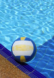 Color ball on swimming pool Stock Photo
