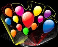 Color ballons Royalty Free Stock Image