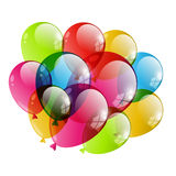 Color  balloon Stock Images