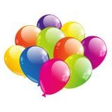 Color balloon Stock Photos