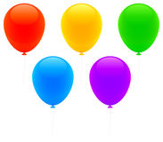 Color balloons. Stock Photo