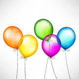 Color balloons Stock Image