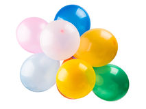 Color balloons Stock Images