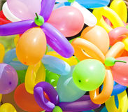 Color balloons background Royalty Free Stock Images