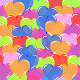 Color balloons background Stock Photos