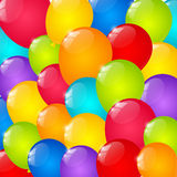 Color balloons. Background for Your design Stock Photography