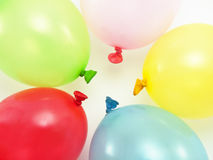 Color balloons isolated Royalty Free Stock Images