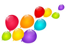 Color balloons Royalty Free Stock Image