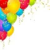 Color balloons Stock Photo