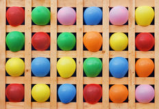 Color balloons. Royalty Free Stock Image
