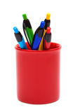 Color ballpoint pens Royalty Free Stock Photo