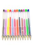 Color ballpoint pens Royalty Free Stock Photography