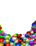 Color balls. Illustration as a background Royalty Free Stock Image