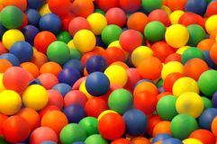 Color balls. Abstract picture, shapes Stock Image